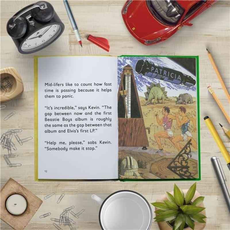 The Mid-life Crisis Personalised Ladybird Book product image