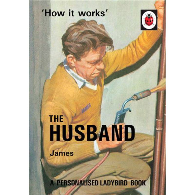 Personalised Ladybird Book For Adults - The Husband product image