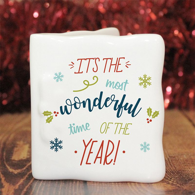 The Most Wonderful Time Of The Year Personalised Message Card product image