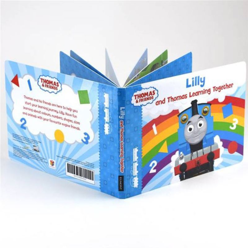 Me and Thomas Learning Together - Personalised Book product image