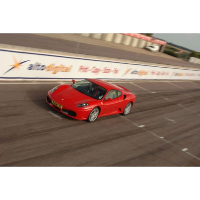 Ferrari F430 vs Porsche Driving Experience at Thruxton product image