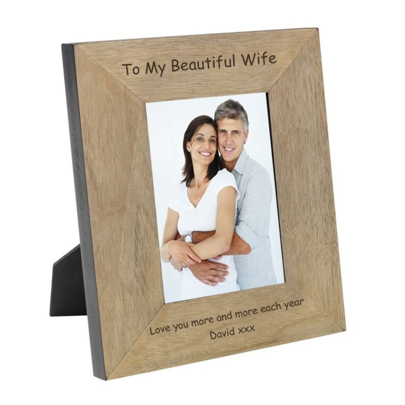 To My Beautiful Wife Wood Frame 6 x 4 product image