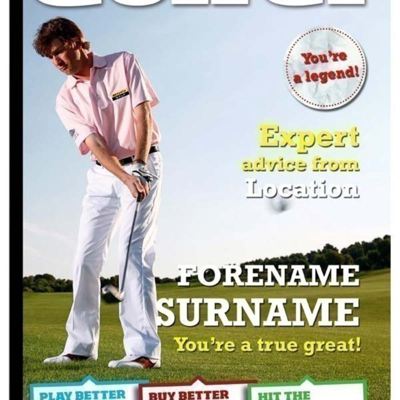 Today's Golfer Personalised Magazine Cover product image