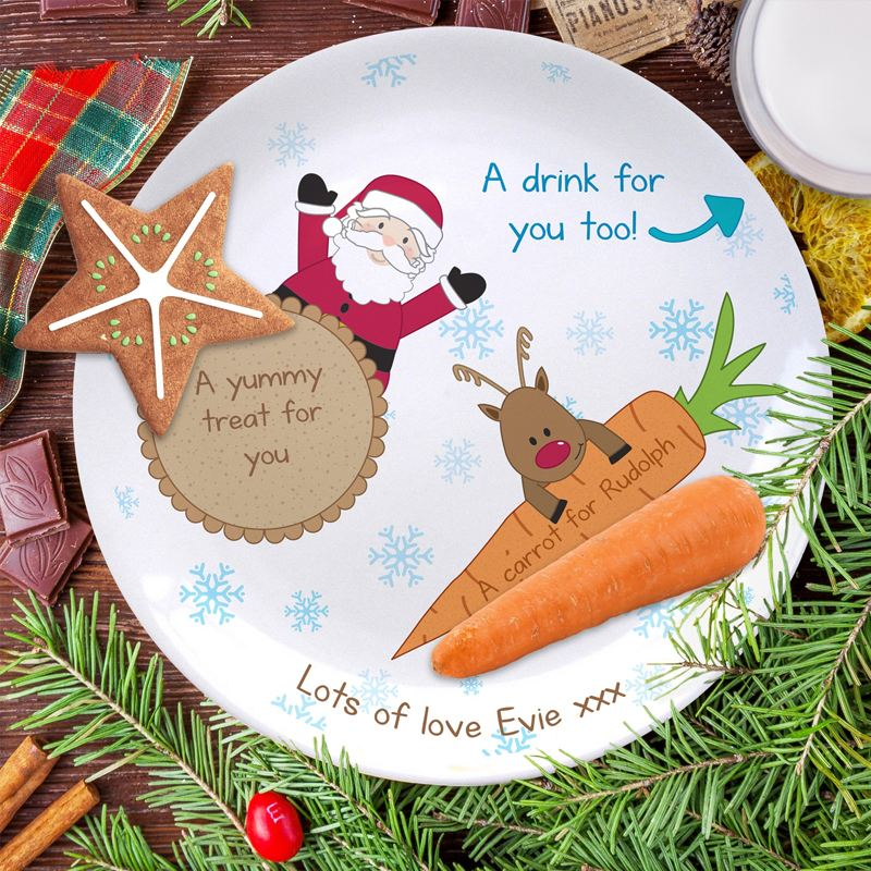 Treats for Santa Plate product image