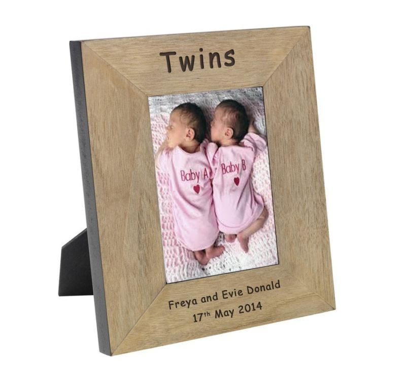 Twins Wood Frame 6 x 4 product image