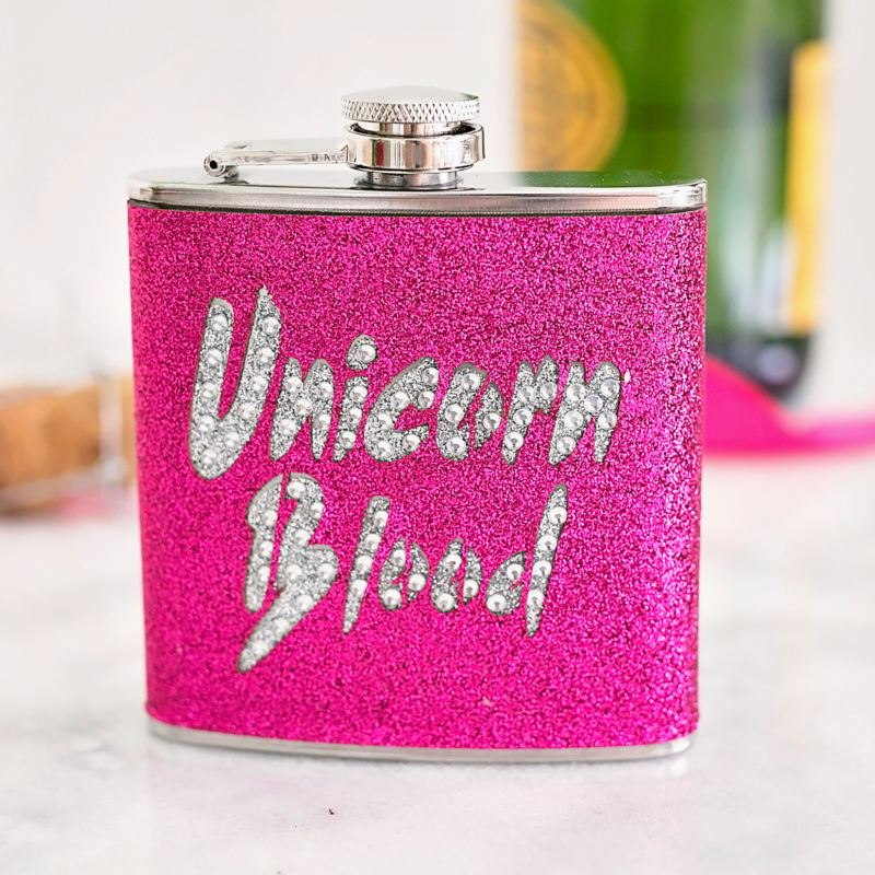 Unicorn Blood Hip Flask product image
