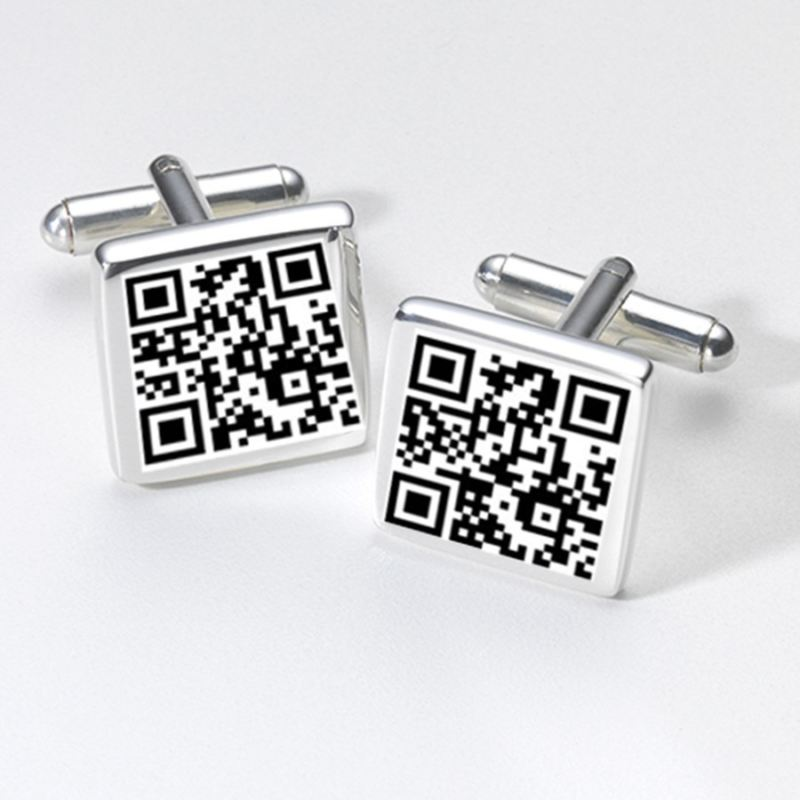 Website URL QR Cufflinks product image