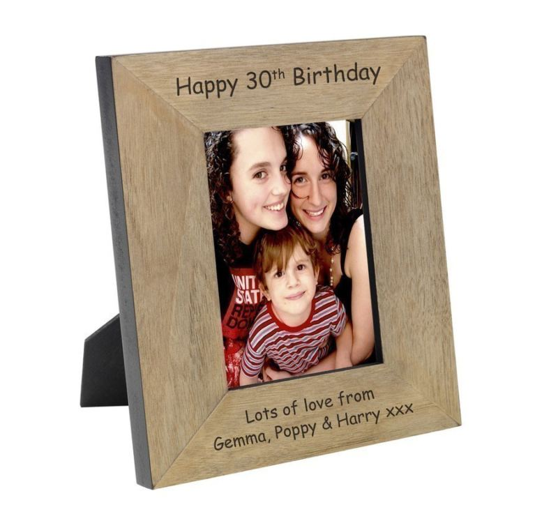 Wood Photo Frame 6 x 4 product image