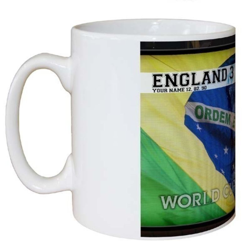 World Cup Personalised Football Mug product image